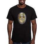 Twin Falls Sheriff Men's Fitted T-Shirt (dark)