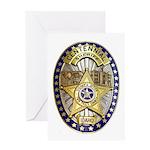 Twin Falls Sheriff Greeting Card