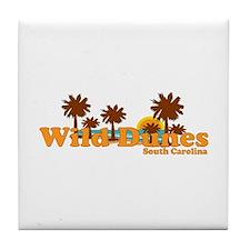 Wild Dunes SC Tile Coaster