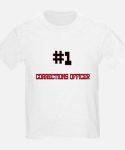 Number 1 CORRECTIONS OFFICER T-Shirt