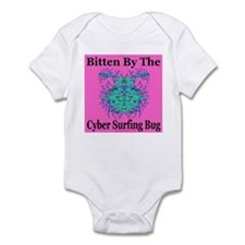 Cyber Surfing Bug Infant Creeper