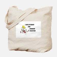 Cute Teacher on vacation Tote Bag