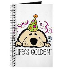 New Year's Golden Journal