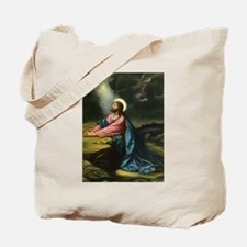 Vintage Jesus Christ Tote Bag