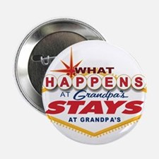 "What Happens at Grandpa's 2.25"" Button"