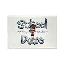 School Daze Rectangle Magnet Magnets