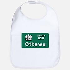 Ottawa, Canada Hwy Sign Bib