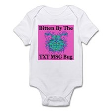 Bitten By the TXT MSG Bug Infant Creeper