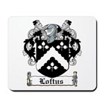 Loftus Coat of Arms Mousepad