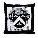 Loftus Coat of Arms Throw Pillow