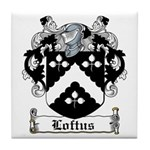 Loftus Coat of Arms Tile Coaster