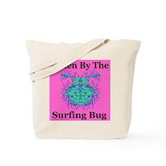 Surfing Bug Tote Bag