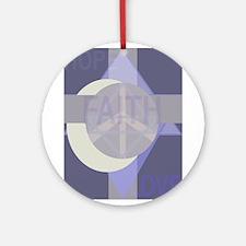 hopefaithlove Ornament (Round)