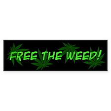 Free The Weed! Bumper Bumper Sticker