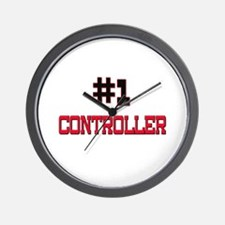 Number 1 CONTROLLER Wall Clock