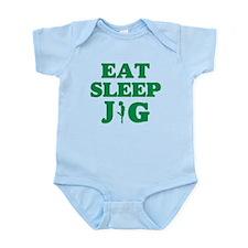 EAT SLEEP JIG Infant Bodysuit