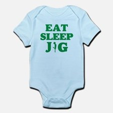 EAT SLEEP JIG Infant Bodysuit