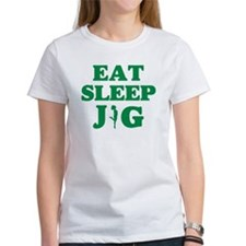 EAT SLEEP JIG Tee