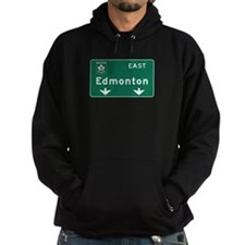 Edmonton, Canada Hwy Sign Hoodie