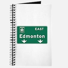 Edmonton, Canada Hwy Sign Journal
