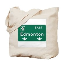 Edmonton, Canada Hwy Sign Tote Bag