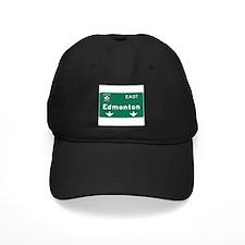Edmonton, Canada Hwy Sign Baseball Hat