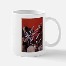 Vintage Music, Art Deco Jazz Small Mugs