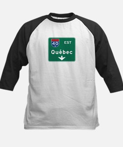 Quebec, Canada Hwy Sign Tee