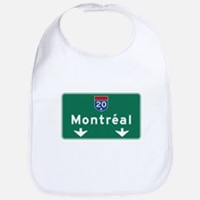 Montreal, Canada Hwy Sign Bib