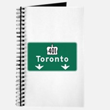 Toronto, Canada Hwy Sign Journal