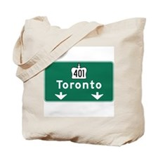 Toronto, Canada Hwy Sign Tote Bag