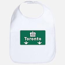 Toronto, Canada Hwy Sign Bib