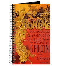 Vintage La Boheme Opera Journal
