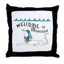 Montauk Monster - Throw Pillow