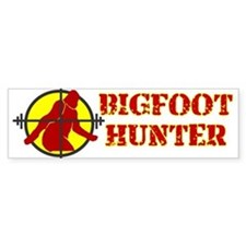 BIGFOOT HUNTER SHIRT BIGFOOT Bumper Bumper Sticker