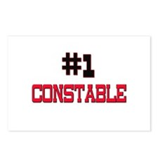 Number 1 CONSTABLE Postcards (Package of 8)