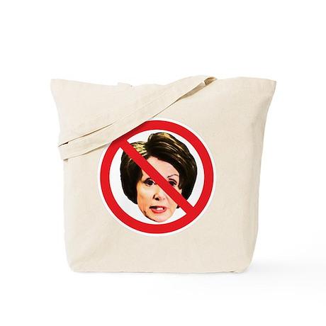 No Nancy Pelosi Tote Bag