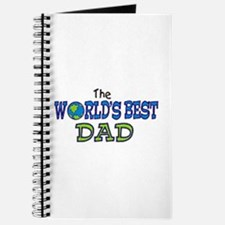 World's Best Dad Fathers Day Journal