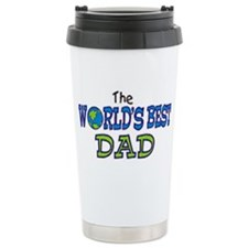 World's Best Dad Fathers Day Travel Mug