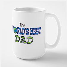 World's Best Dad Fathers Day Mug