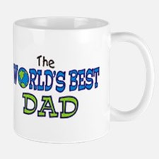World's Best Dad Fathers Day Mug