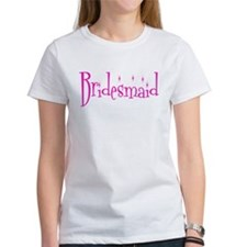 Bridesmaid Pink Twinkle T-Shirt