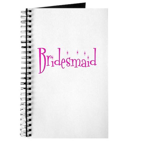 Bridesmaid Pink Twinkle Journal