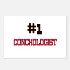 Number 1 CONCHOLOGIST Postcards (Package of 8)