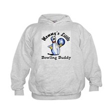 Mommy's Little Bowling Buddy Hoodie