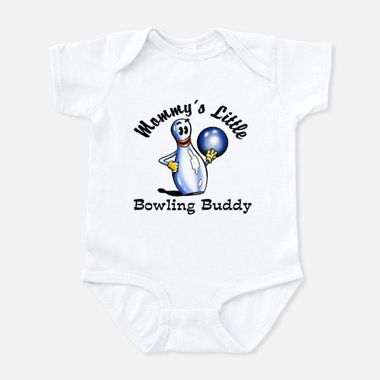 Mommy's Little Bowling Buddy Infant Bodysuit