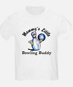 Mommy's Little Bowling Buddy T-Shirt