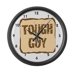 Tough Guy Large Wall Clock
