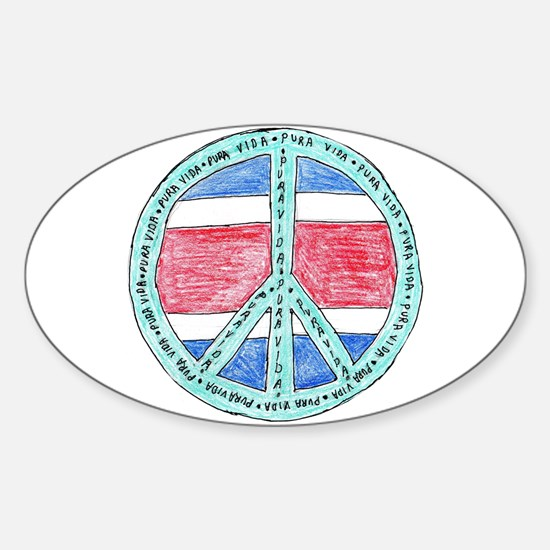 Pure Life Oval Decal
