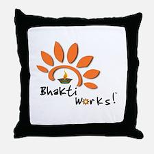 Bhakti Works! Throw Pillow